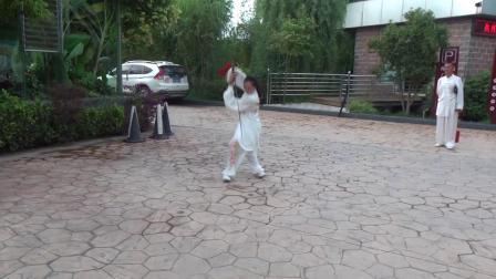 米霞表演武当剑49式