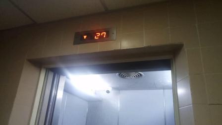 南洋大厦消防梯 (仿帝豪大厦)