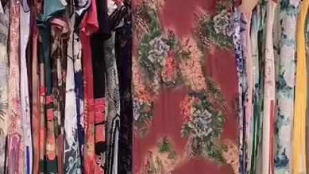 苏州《旗袍》真丝连衣裙,尺码M-3XL,批发价55元/条,30条一份,吊牌价1000元