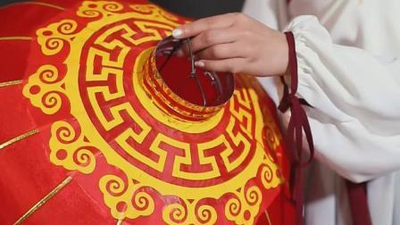 大红灯笼阳台户外防水绸布喜字铁口广告灯笼婚庆节日结婚喜庆装饰