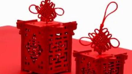 创意结婚喜糖盒木盒中式婚礼木质镂空灯笼手提回礼盒婚庆喜糖盒子