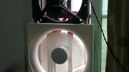 我把视频合起来延长了一下时长,这是排气扇的综合性安装