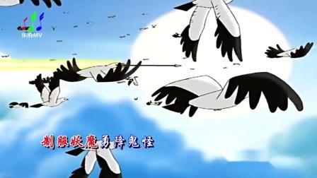 杨彩钰《少年英雄小哪吒》儿童动画歌曲,我们童年的回忆