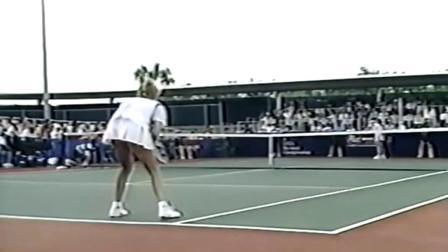 【自制HL】塞莱斯VS大马列娃 1990年圣安东尼奥决赛