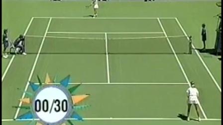 【自制HL】桑切斯VS大马列娃 1994年澳网女单四分之一决赛