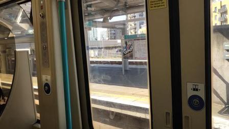 伦敦地铁greenwich进站