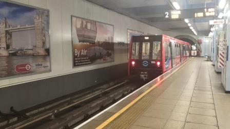 伦敦地铁出站