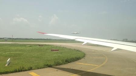 维珍航空VS251上海浦东到伦敦希思罗浦东机场其他飞机降落