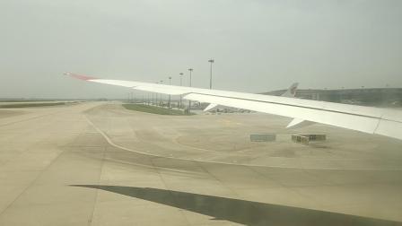 维珍航空VS251上海浦东到伦敦希思罗浦东机场滑行2