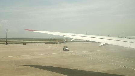 维珍航空VS251上海浦东到伦敦希思罗浦东机场滑行1