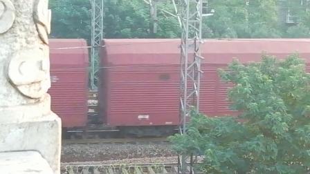 HXD1C0213-货列通过新余市长青南路立交桥