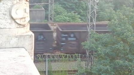 HXD1C0151-货列通过新余市长青南路立交桥