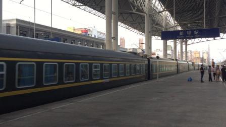 K464次进蚌埠站