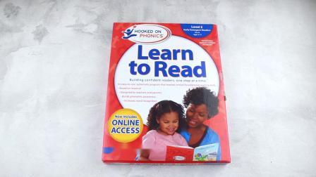 英文原版教材迷上自然拼读第二级Hooked on Phonics Learn to Read Level2启蒙3-4岁英语学习美国孩子普遍使用的自然拼读教材含D