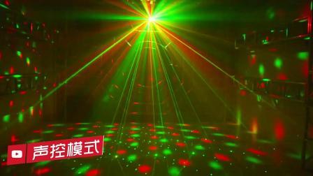 舞台灯光 魔球七彩灯声控激光蹦迪房间旋转夜店家用镭射ktv闪光灯