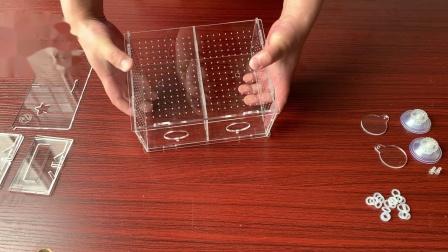 繁殖盒 组装介绍  九一一水族