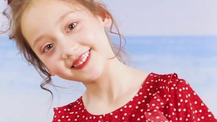 女童洋装夏季超洋派红色波点小女孩裙子中大童喇叭袖公主雪纺裙