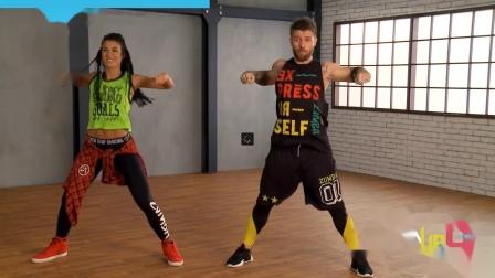 【OG健身】ZUMBA 尊巴 一首歌 有氧健身舞蹈 分解教学 7