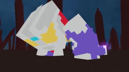 我的世界动画-奥特曼迪迦变形-Minecraft Legends