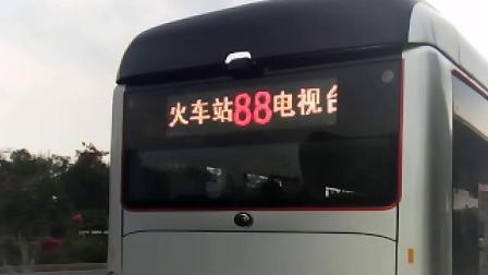 商丘公交88路 子弹头后置电显