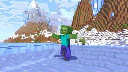 我的世界动画-怪物学院-冬季户外旅行-MineCZ