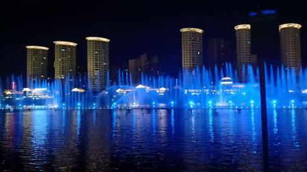 内蒙古呼和浩特市如意广场大型音乐喷泉