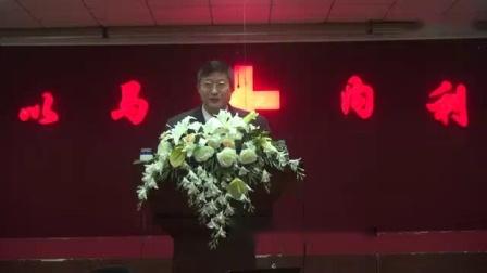 我在西安活泉教会2018.1.14培灵会 季凤文牧师 7截了一段小视频