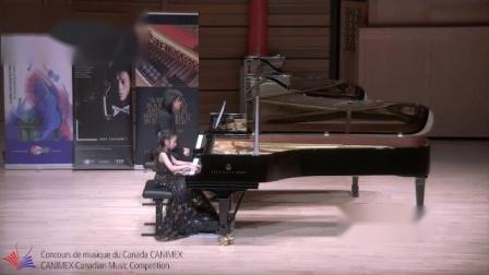 8岁Chloe和Sophie在加拿大全国音乐比赛演奏协奏曲