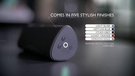 KEF MUO无线蓝牙扬声器 音箱音响手机家用hifi重低音户外小音响