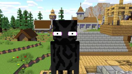 我的世界动画-怪物学院-幸运方块-MineGirlZ