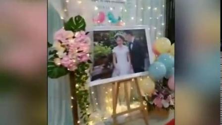 婚庆布幔背景纱幔新款婚礼道具舞台结婚装饰幕布甜品台生日背景布
