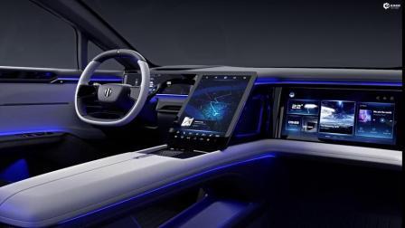 华人运通 高合HiPhi 1超跑SUV展示智能驾驶座舱