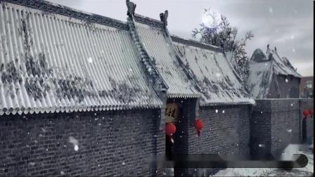 S1028 朗诵示范《唐诗里的中国》中国风古诗水墨 朗读演讲晚会节目 LED背景视频素材制作