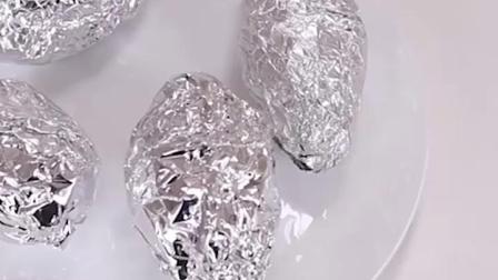 韩国克林莱铝箔纸烤箱花甲粉专用锡纸加厚型烧烤蛋糕防油铝箔纸