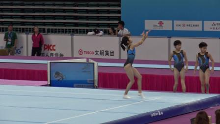 王梦真 - Wang Mengzhen (江苏) FX PT 2nd Youth Games 2019 太原