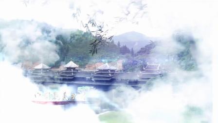 1417 大气云层穿越中国风水墨壮丽风景乡村旅游宣传片视频AE模板 ae片头 pr 视频制作 宣传片