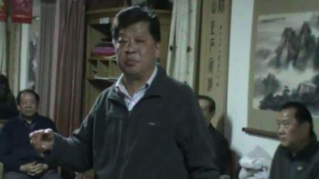 河南省京剧联谊会徐湘东会长讲话。双方介绍到场的成员(郑州、徐州)