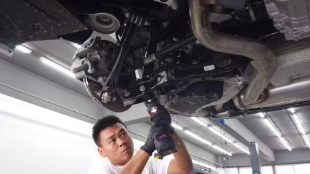 搏迈汽车全国首拆宝马新3系G28避震器