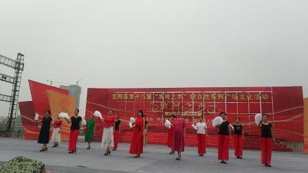 滨河舞台排练《清风明月》