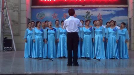歌唱祖国。母亲是中华
