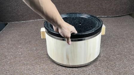 陶瓷喷泉木桶密封圈安装视频