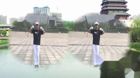 中国梦之队第十五套健身操:扩胸运动