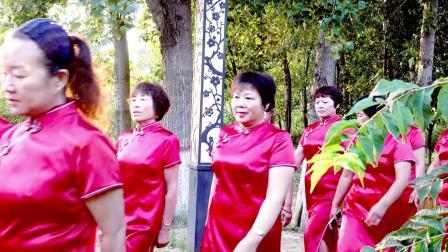 景州旗袍会人民公园分会成立纪实