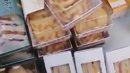饼乾盒豆乳盒子包装盒班戟泡芙蛋糕卷热狗长方形纸塑西点蛋糕盒