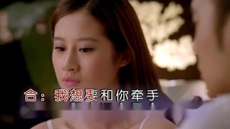 暗恋的烟-龙飞、梅朵儿(KTV左伴右唱)
