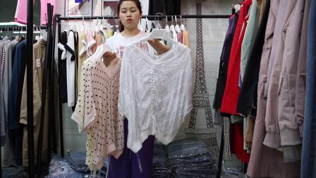 2019年最新精品女装批发服装批发时尚服饰时尚女士新款夏装小衫上衣大版T20件起批,视频款可挑款零售混批~1.mp4