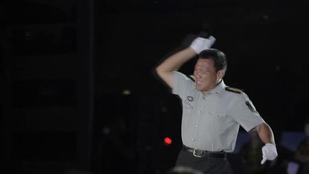 芦屯镇广场文化周《军歌嘹亮》庆八一范屯专场晚会 合唱《红色歌曲》