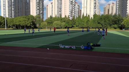 训练——长宁区校园足球精英暑期训练忙20190802