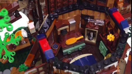 LEGO乐高创意积木 21318树屋