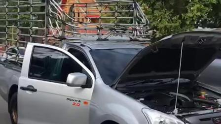 马哈苏拉萨 加持汽车 保平安